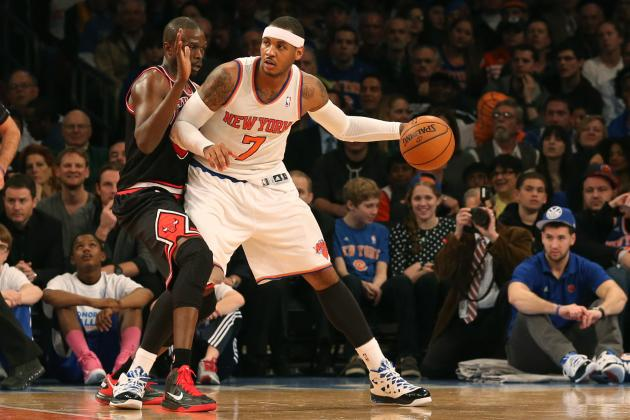 Melo: 'I Got an Owner That Looks out for Me'