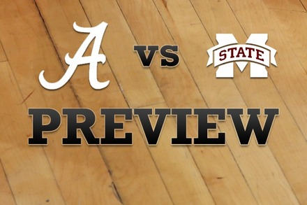 Alabama vs. Mississippi State: Full Game Preview