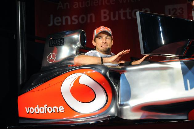Jenson Button Predicts 'very Strong Partnership' with Sergio Perez
