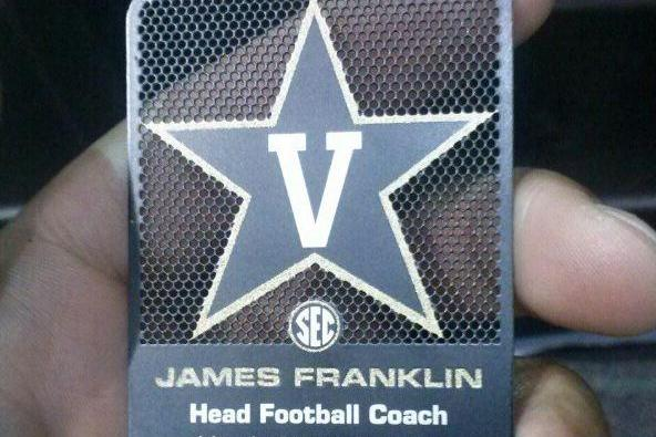 James Franklin: Vanderbilt Coach Has Some Badass Business Cards