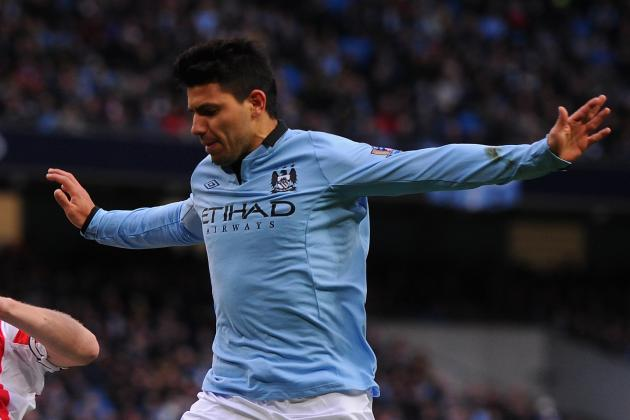 Aguero Boost as City Striker Is Back in Training