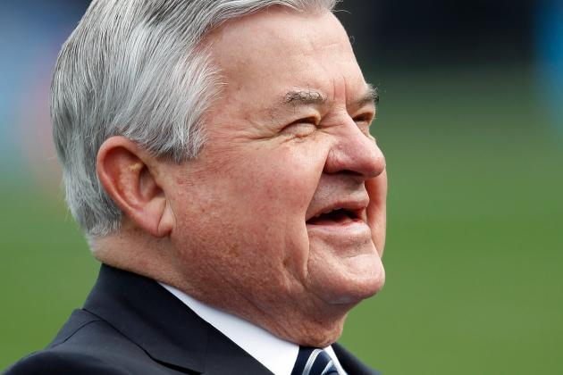 Jerry Richardson's Sale Plans for Carolina Panthers Could Tip Stadium Talks