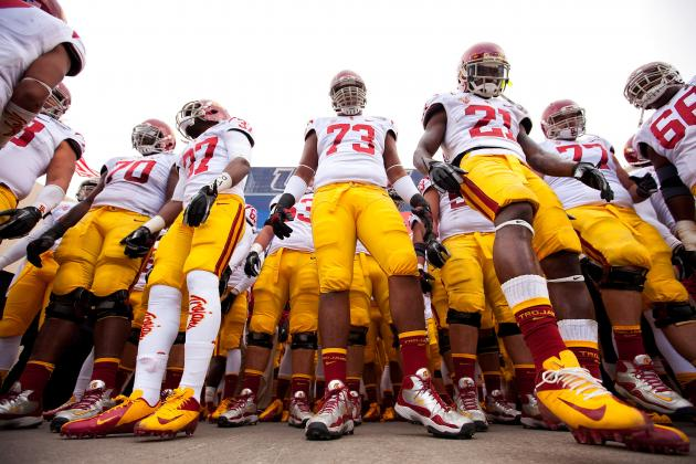 USC Football: Trojans Reportedly Get into Locker-Room Altercation After Sun Bowl