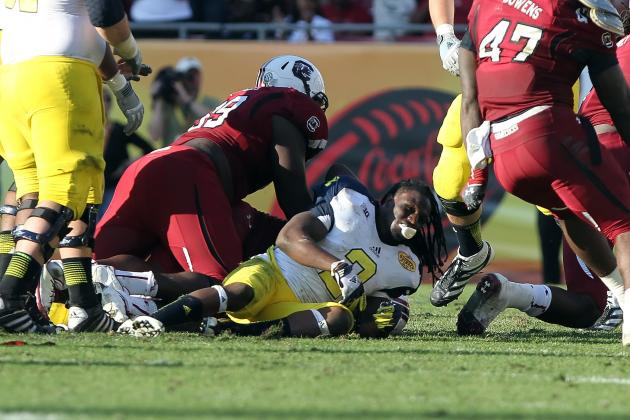 Michigan's Vincent Smith Downplays Jadeveon Clowney Hit, as He Should