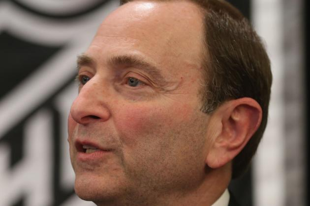 Will Gary Bettman Have the Guts to Present the Stanley Cup in 2013?