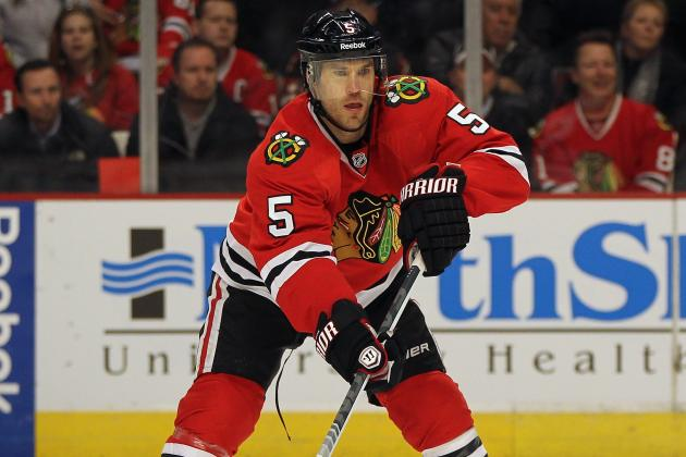 Chicago's Montador (Concussion) Not Close to Returning