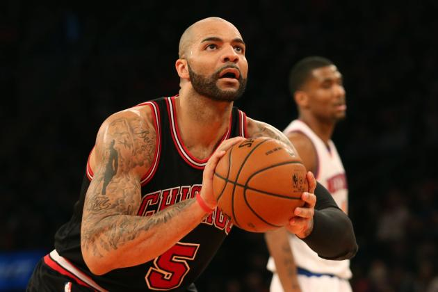 Bulls' Carlos Boozer Showing Plenty of Resolve