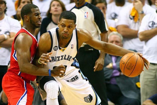 Chris Paul: Grizzlies Would Be 'crazy' to Trade Star Gay Before Season's End