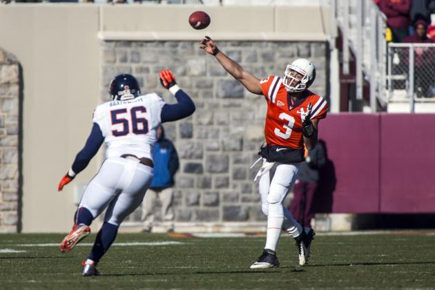 Chris Brathwaite No Longer on UVa Football Roster