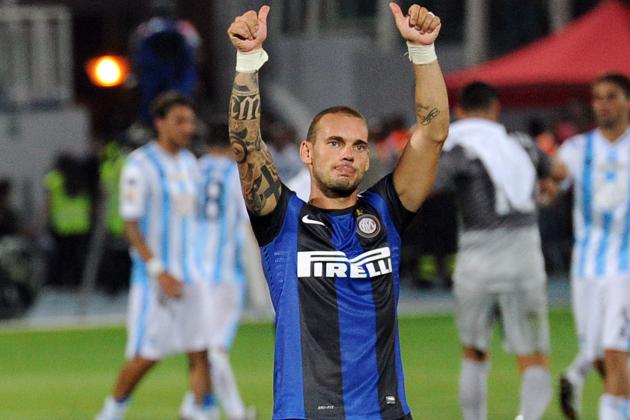 Manchester United Transfer News: Buzz on Wesley Sneijder, Wilfried Zaha and More