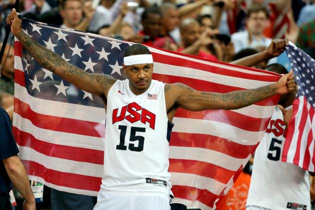 Time for Carmelo to Remember His Summer Lesson as Star Makes Return to London