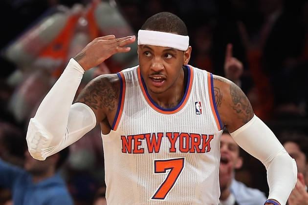 How Carmelo Anthony Has Changed Game to Become Legit MVP Candidate