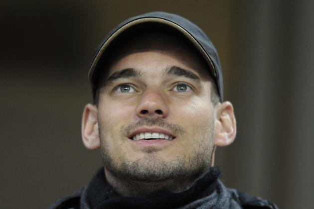 Wesley Sneijder: Waiting for Premier League Offer Is Midfielder's Best Option