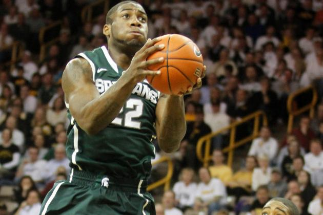 Branden Dawson, Adreian Payne Fight, Won't Start for Spartans Tonight