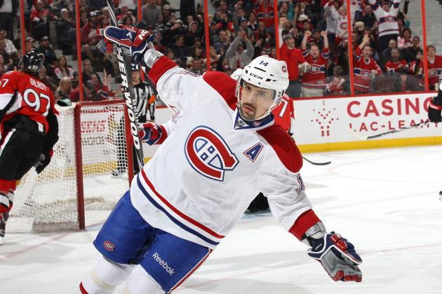 Plekanec Practices for 1st Time Since Lockout