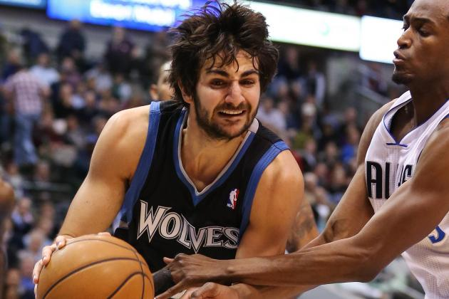 Ricky Rubio Wants More Minutes, Despite Some Pain in His Knee