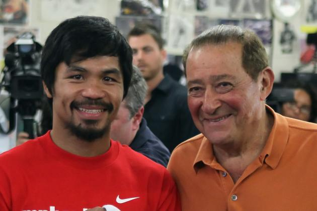Arum: Pacquiao-Marquez 5 Won't Be in U.S.