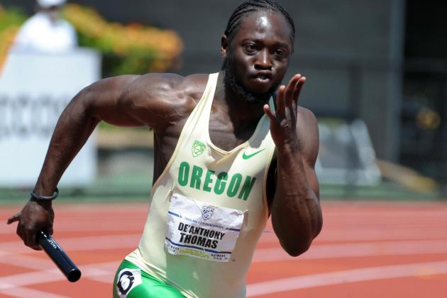 De'Anthony Thomas Will Sprint for the UO Track Team Indoors