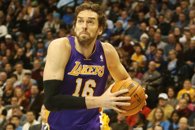 "Pau Gasol Practices, ""optimistic"" Will Play Vs.Heat"