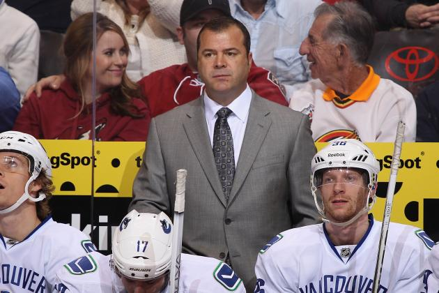 Coach Vigneault Looking for Intensity in Scrimmages