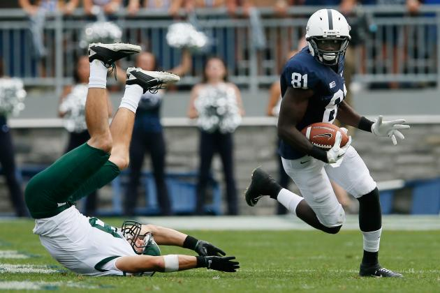 Former Penn State Wide Receiver Shawney Kersey Transfers to Marshall