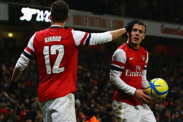 Arsenal FC: Jack Wilshere Shows Way Ahead for Gunners Against Swansea