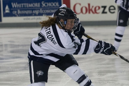 Megan Armstrong Logs 2 Third-Period Goals to Win Game for Wildcats