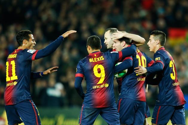 Match Report: Barcelona 2-2 Malaga
