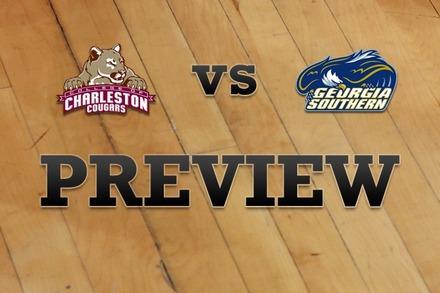 Charleston vs. Georgia Southern: Full Game Preview