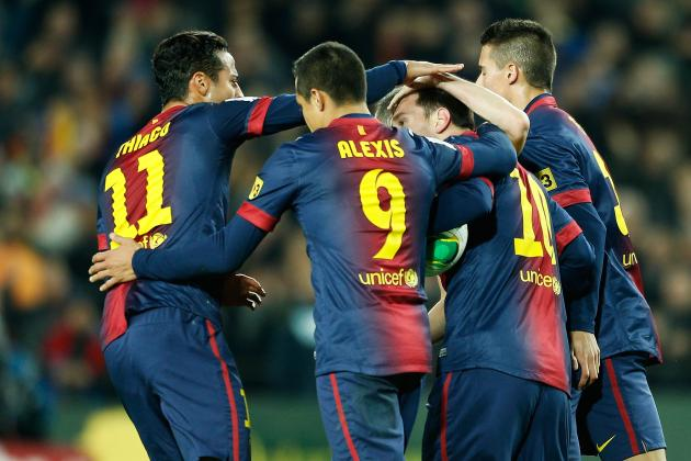 Copa Del Rey 2013: Why Barcelona Will Rebound vs. Malaga
