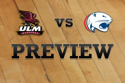 Louisiana-Monroe vs. South Alabama: Full Game Preview