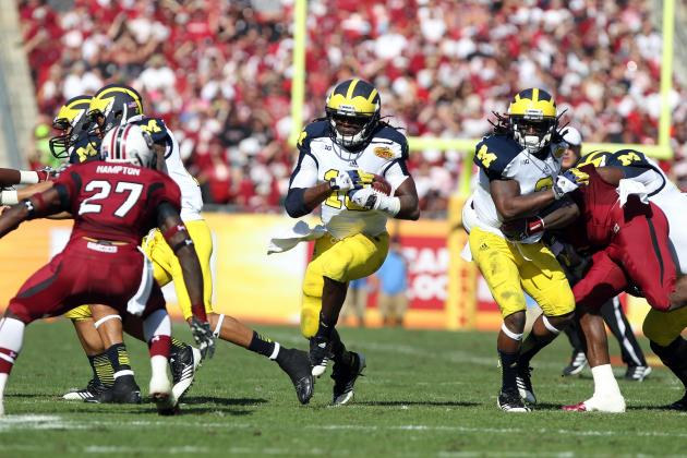 Senior Bowl 2013: Is Denard Robinson Really the Next Antwaan Randle El?