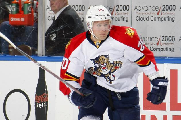 Panthers Suspend Sean Bergenheim for Being Unfit to Play