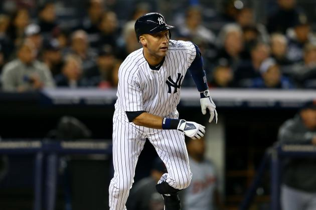 Derek Jeter Cleared for Baseball Activities