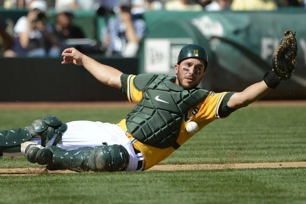 A's Designate George Kottaras for Assignment