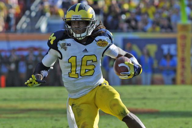 U-M's Denard Robinson Is No Later Than Second-Rounder, Kiper Says