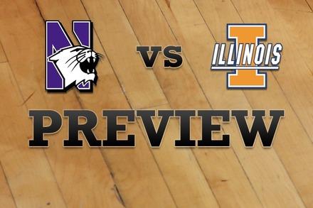 Northwestern vs. Illinois: Full Game Preview