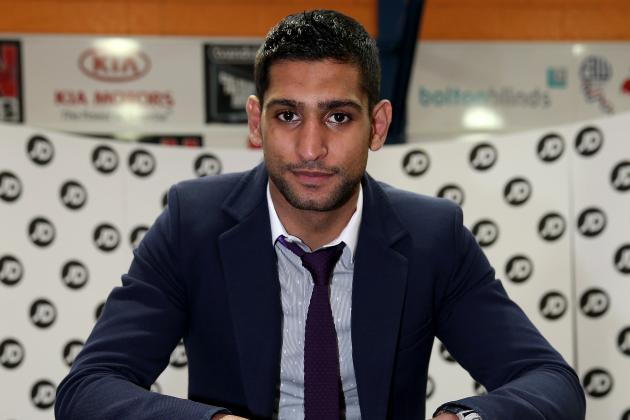Khan in Talks for a Fight with Senchenko for April 20th in Manchester
