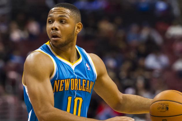 Eric Gordon Sits out Wednesday's Game Because of Sore Right Knee