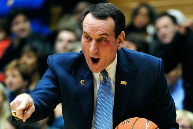 Mike Krzyzewski Delivers Epic Rant on  Maryland, NCAA Conference Realignment
