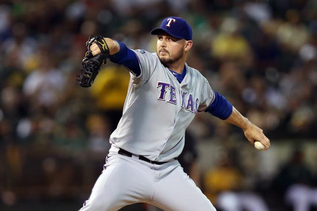 Rangers, Matt Harrison Agree To Extension: MLB Rumors - MLBTradeRumors.com