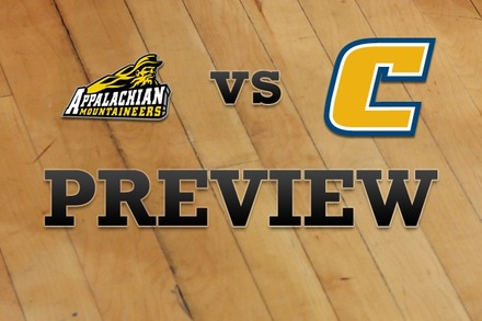 Appalachian State vs. Chattanooga: Full Game Preview
