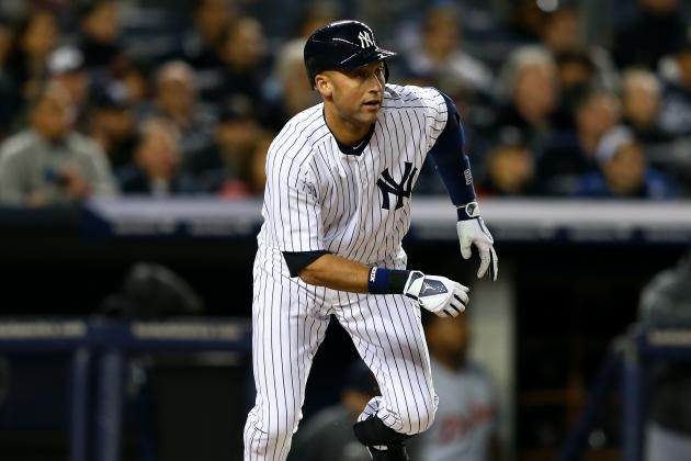 Yankees SS Jeter Cleared for Baseball Activity
