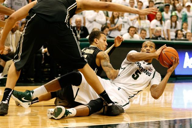 Payne Keys No. 17 Mich. State's Win After First-Half Benching