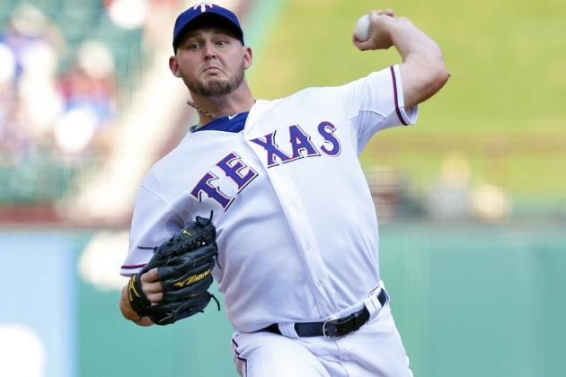 Matt Harrison Agrees to 5-Year Contract Extension with Rangers