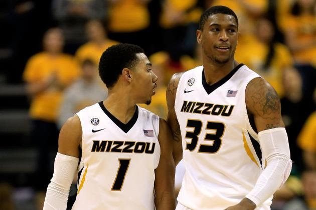 No. 17 Mizzou Rebounds Behind Ross' 15 Points