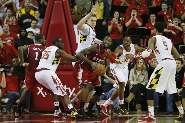 Len's Put-Back with 0.9 of a Second Left Lifts Terps over N.C. State