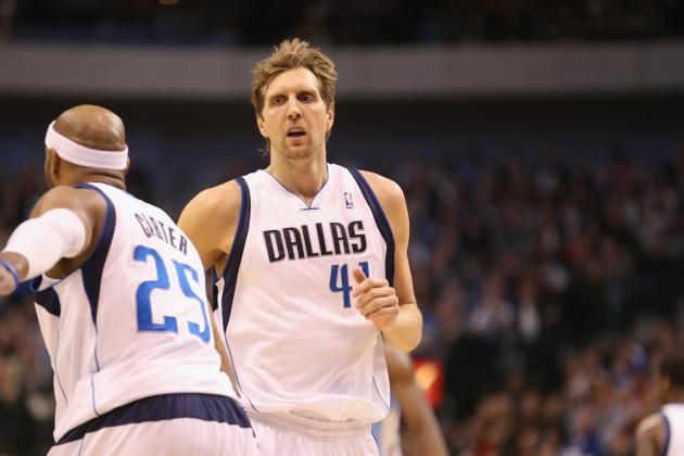 Dirk Nowitzki Scores 19 Points as Mavericks Top Rockets for Fourth Straight Win