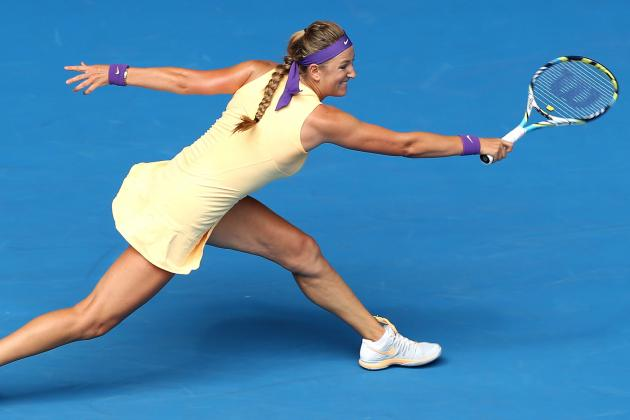 Defending Champ Azarenka Advances at Aussie Open