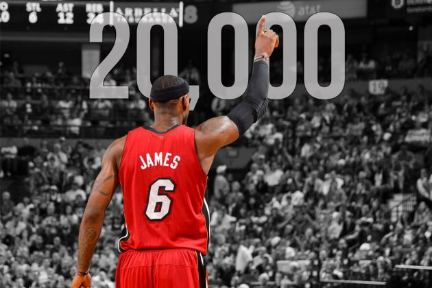 LeBron James Becomes the Youngest Player in NBA History to Score 20,000 Points